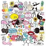 Notebook Coolba Sticker Girl Pink,Vinyl Graffiti Stickers for Luggage,Laptop Sticker Suitcase Skateboard Phone Guitar Water Bottles Sticker Waterproof Sticker Vsco 100 PCS Ski Helmet