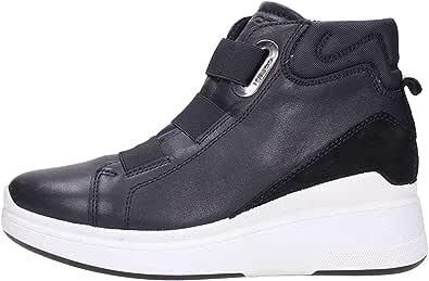 IGIeCO 4141800 Nero Sneakers Donna alla Caviglia