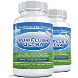 PuriFlush Ultra (2 Bottles) - Most Powerful Detox & Colon Cleansing Formula | Complete Digestive Detoxifying Supplement and I