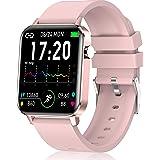 andfive Smartwatch, Reloj Inteligente Mujer con IP68 Monitor de Sueño y Pulsómetro, Reloj Deportivo Podómetro, Calorías, Puls