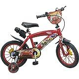 """Toims Cars Vélo Enfant 14"""" - 3/5 ans"""
