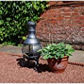 Kingfisher Outdoor Cast Iron Chiminea Barbeque/Heater from Kingfisher