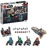 LEGO75267StarWarsMandalorianBattlePackSetwith4Minifigures,SpeederBikeandMini-fort