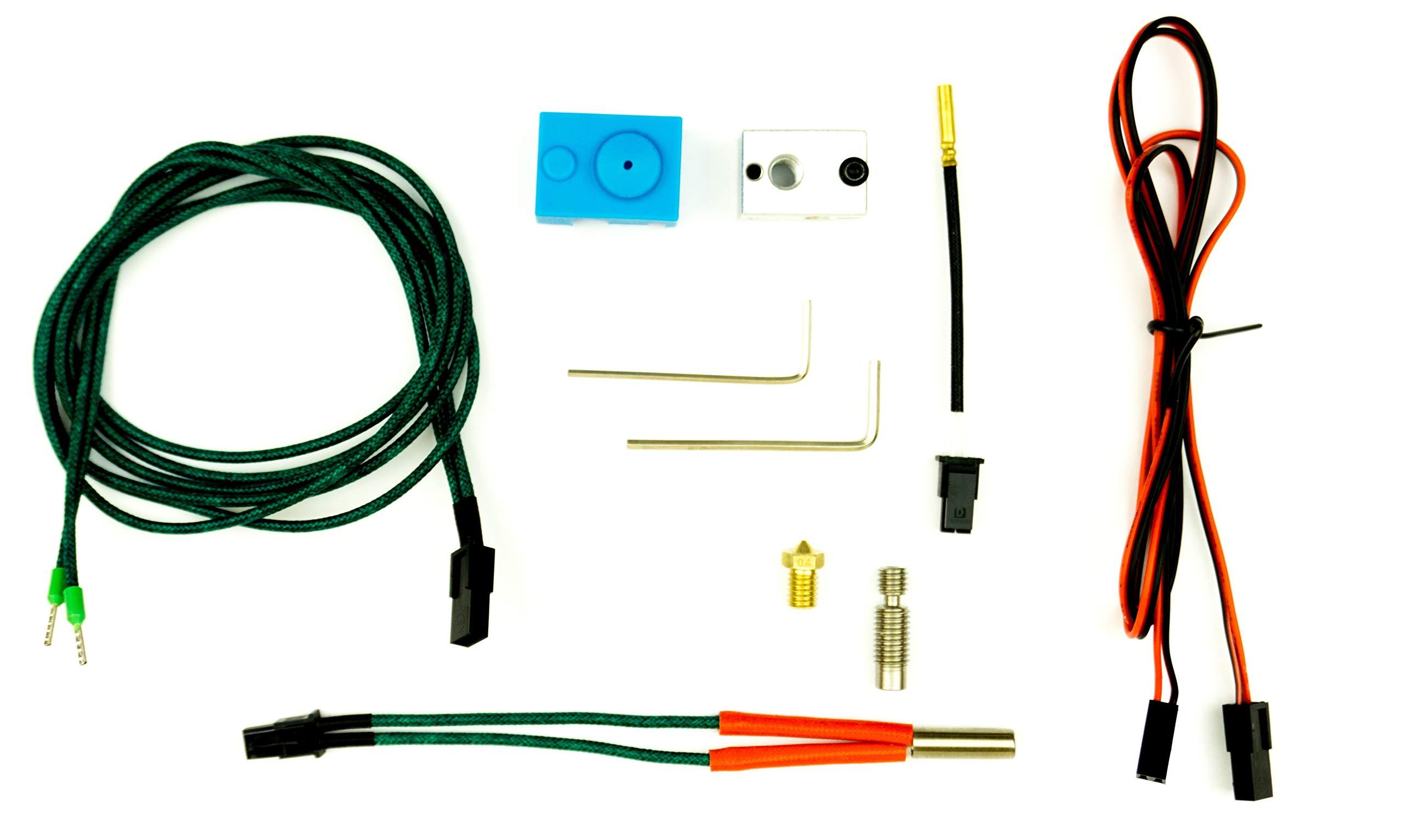 Kit de réparation et de mise à niveau pour Prusa i3 et compatible 1.75mm 24V e3d