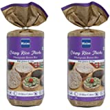 HAIM Organic Wholegrain Brown Rice Cakes with Quinoa and Chia Seeds Pack of 2 (15 Rice Cakes/Packet)