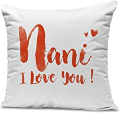 Tied Ribbons Mother'S Day Special Gifts For Grandmother Printed Cushion(12 inch X 12 inch) With Filler