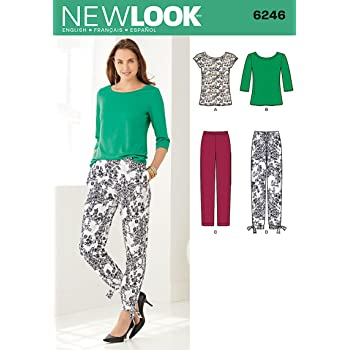 0276a2c7e89c9f New Look Sewing Pattern 6246 - Smart   Casual Wear Sizes  (8-10-12 ...