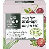 N.A.E. - Crème Jour Anti-Âge Visage - Certifiée Bio - Huile de Pépins de Raisin Bio, Extrait d'Aloe Vera Bio et Acide Hyaluro
