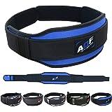 AQF Gewichtheffen Riem Rugsteun Voorgevormd 5,5 Inch Neopreen Rug- & Core Lumbale Ondersteuning voor Bodybuilding, Powerlifti