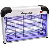 ASPECTEK Lampe UV Anti Insectes Volants. Tue-Mouche Destructeur d' Insectes Electrique 20W. Lampe Anti Moustique…