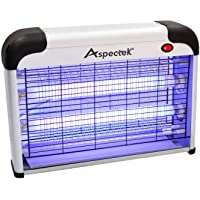 ASPECTEK Fly and Insect Killer 20W UV light Attract to Zap Flying Insects Playing Excellent Role as Bug Zapper, Insect Killer, Fly Zapper, Fly Killer, Fly Swatter, Wasp Killer UK PLUG