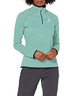 Pullover Donna Odlo Midlayer 1//2 Zip Le Tour