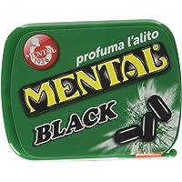 Mental Fassi Pasticche alla Menta Liquirizia - Pacco da 24 x 640 g