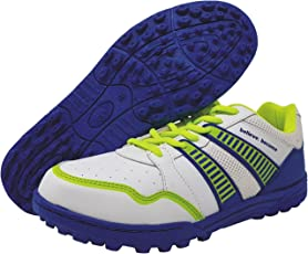 SG Shield X2 Cricket Studs, Size 9 (Blue/Lime)
