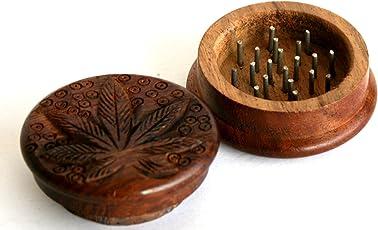 Heirloom Quality Premium Wooden Herb Grinder Crusher
