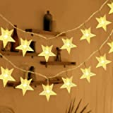 HOMVAN LED Fairy Lights Battery Powered Star Fairy Lights 7.5 Metres 50 LEDs Indoor and Outdoor String Lights Ideal for…
