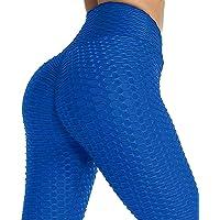 CheChury Leggings Sportivi Donna Reggiseni Sportivi Vita Alta Palestra Pantaloni Sportivi Donna Yoga Pants Push Up per…