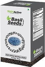NutroActive Basil Seeds, Tukmariya/Sabja Seeds 250 gm