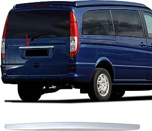 Kofferraumleiste Heckleiste Heckklappe Für Vito Viano W639 2004 2014 Zierleis Blenden Edelstahl Chrom Auto