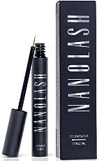 NANOLASH Wimpernserum & Augenbrauenserum. Wimpern Booster für lange, dichte und schöne Wimpern in 30 Tagen