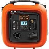 Black + Decker 11.0 bar/12 V-compressor/luchtpomp (160 psi, voor banden, ballen, rolstoelen, enz, met 2 bedrijfsmodi en pompm