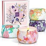 SCENTORINI Bougies Parfumées Bougies Parfumées, Ensemble de Bougies Parfumées, Cire de Soja pour Les Cadeaux pour la Fête des