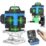 Kecheer Kruis lijnlaser groen laserniveau zelfbalancerend multifunctioneel 16-regel-niveau gereedschap verticale horizontale