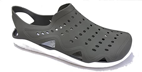 SPADE CLUB Men's Athletic & Outdoor Sandals Gray Size - 45 (11)