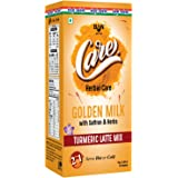 Care Golden Milk Turmeric Latte Mix with Saffron & Herbs - Immunity Booster | Gulten-Free | NO Preservatives | Ready to…