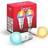 Innr E27 Smart LED Lampe, Color, dimmbar, RGBW, kompatibel mit Philips Hue*, bridge erforderlich (RB 285C-2)