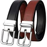 Belts for Men - Lavemi Mens Reversible Italian Cowhide Leather Dress Belt,One Belt Reverse for 2 Colors