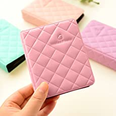 Shopizone Mini 36 Pockets Album for Instax Mini 8/9/9+ Accessory Travel Diary to Store Memories - Pink