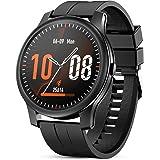 GOKOO Smartwatch Uomo con Cardiofrequenzimetro Monitor del Sonno Fitness Activity Tracker Promemoria Notifica Cronometro Conn