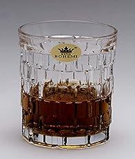 Whisky Glass Set of 6 Pcs Material of Crystal Designer Whisky Tumbler Latest Design Nice Look