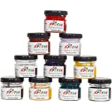 Epotag Art Resin Pigments Translucent Effect Kit - (Combo of 10) (20g each)