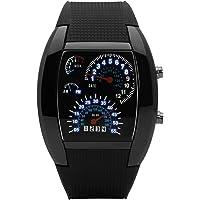 Hiwatch LED montre homme Mode Sport étanche montre numérique pour hommes garçons filles montre bracelet, Meilleur Cadeau…