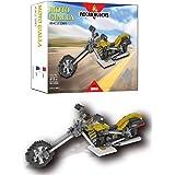 Micro Blocks wlt-yz045 – set byggbox motorcykel gul