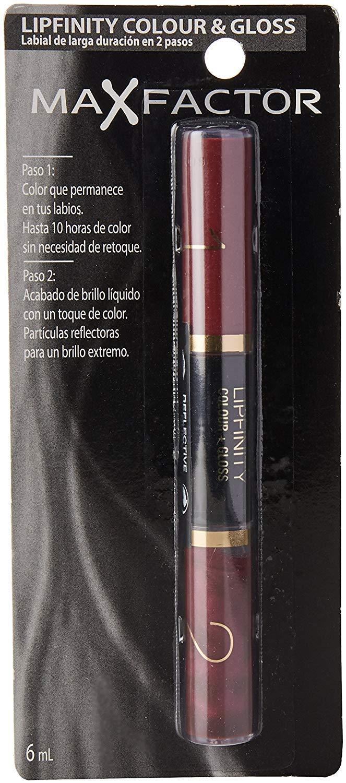 Max Factor LipFinity Colour & Gloss Lip Gloss Pintalabios Gloss Tono 650 Lingering Pink – 18 gr