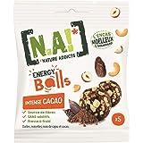 N.A! - Energy Balls Intense Cacao - Mélange de Dattes, Noix de Cajou et Éclats de Noisettes - Sans Colorants, Sans Conservate