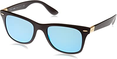 Ray-Ban mens 0RB4195 Tech Liteforce Wayfarer Sunglasses