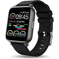 Smartwatch, 1.69 Zoll Voll Touchscreen Fitness Tracker mit Pulsmesser und Schlafanalyse, Fitnessuhr mit Musiksteuerung…