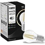 Calex Smart Home - Wifi Led lamp - Filament Kogellamp P45 - E27-4,5W - 450lm - 1800-3000K - Helder, Transparant