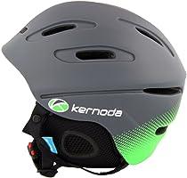 Kernoda Unisex Helmet Freeride Ski/Snowboard Ultralight Winter Warm, Taran