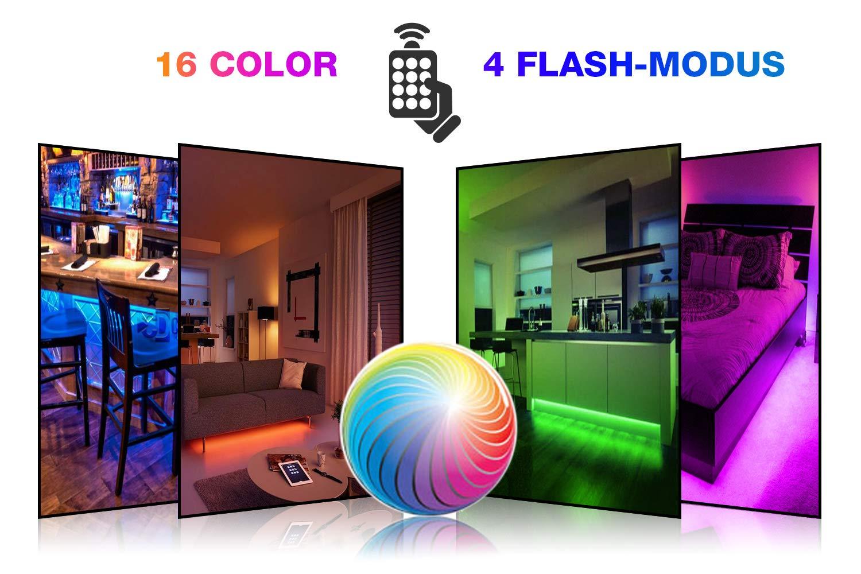 Multi colore rgb cm cm led usb luce di striscia tv led sfondo