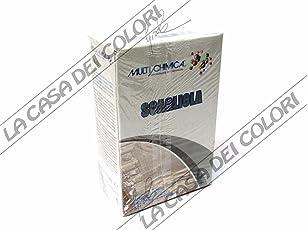 MULTICHIMICA - GESSO SCAGLIOLA - 1 kg - MATERIALE DA COLATA O IMPASTO
