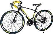 Aster Pc 660 Racing Bike - Black Yellow (26 Inch)