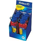 Pelikan 300384 Colla Vinilica Glitter Rosso 60 ml, Confezione da 6 Unità, per Lavorati Creativi e Artistici, Utilizzabile su