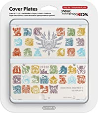 New Nintendo 3DS - Monster Hunter 4 Cover Decorativa, Bianco - Limited Edition