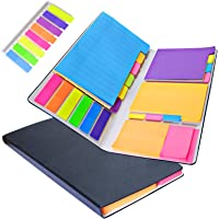 LOCINTE Note Adesive e Segnapagina Set Note Autoadesive Memo 532 Foglietti di Note Adesive Freccia Righe Colorate…