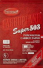 Kores Super 503 Typewriter Carbon Paper